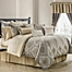 Part of the Waterford® Linens Marcello Reversible Comforter Set