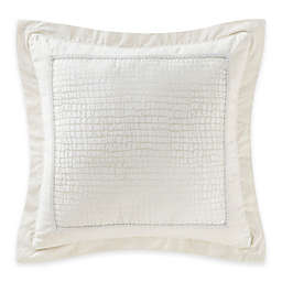 Waterford® Linens Paloma Cascade European Pillow Sham in Ivory