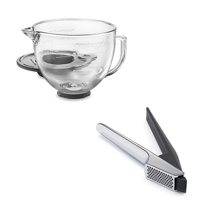 Alternate image 1 for KitchenAid® Artisan® Design Series 5 qt. Stand Mixer Accessories Collection