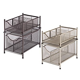 ORG Under the Sink Mesh Slide-Out Cabinet Drawer