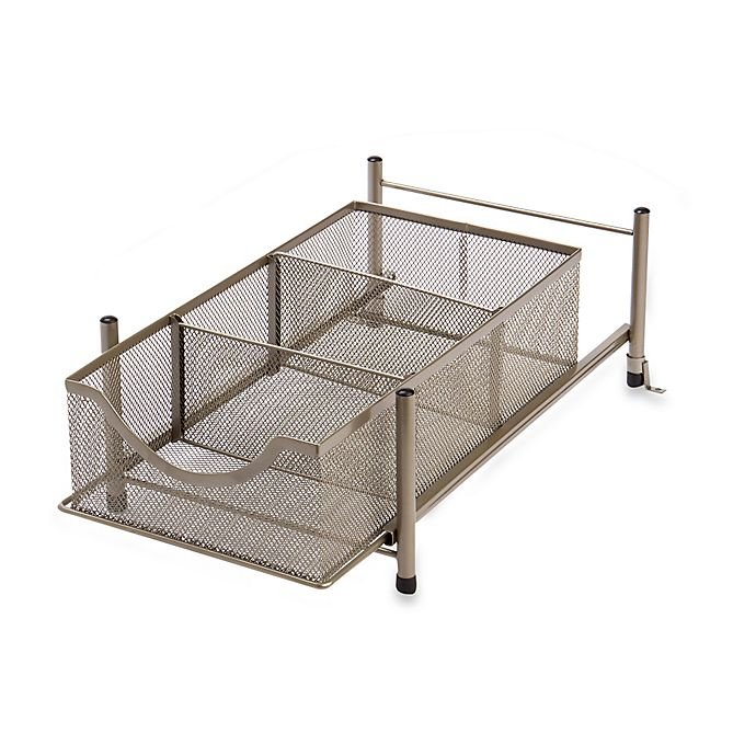 Alternate image 1 for ORG Medium Metal Mesh Cabinet Drawer