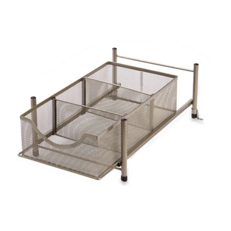 Org Medium Under The Sink Mesh Slide Out Cabinet Drawer