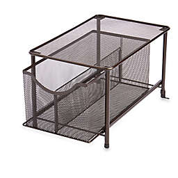 ORG Large Metal Mesh Cabinet Drawer in Bronze