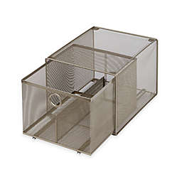 .ORG Large Steel Mesh Stacking Drawer
