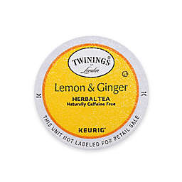 Twinings of London® Lemon & Ginger Herbal Tea Keurig® K-Cup® Pods 18-Count