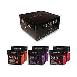 Bestpresso Intenso Variety Pack Espresso Capsules 120-Count