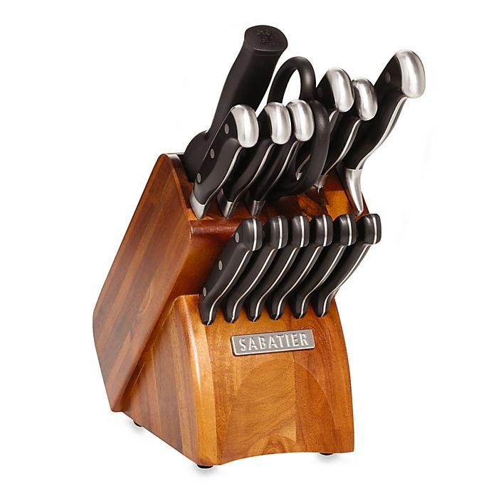 Alternate image 1 for Sabatier® 15-Piece Forged Triple Rivet Cutlery Set