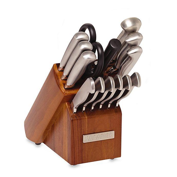 Sabatier 174 Acacia 15 Piece Stainless Steel Cutlery Set