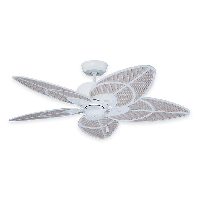 Alternate image 1 for Emerson Batalie Breeze 52-Inch Indoor/Outdoor Ceiling Fan in Satin White