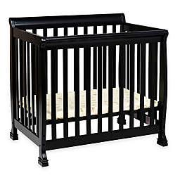 DaVinci Kalani 2-in1 Convertible Mini Crib in Ebony