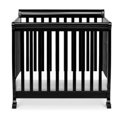 DaVinci Kalani 4-in1 Convertible Mini Crib in Ebony