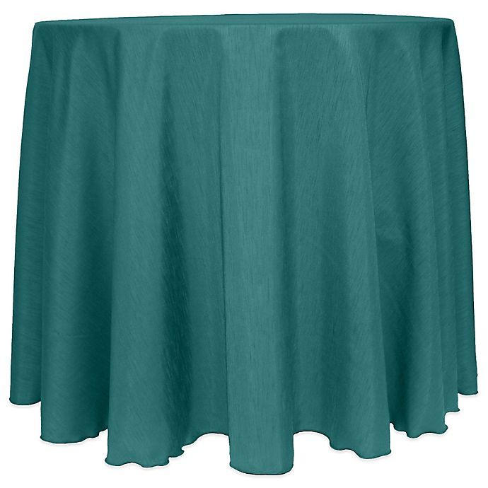 Alternate image 1 for Majestic Satin Finished Round Tablecloth