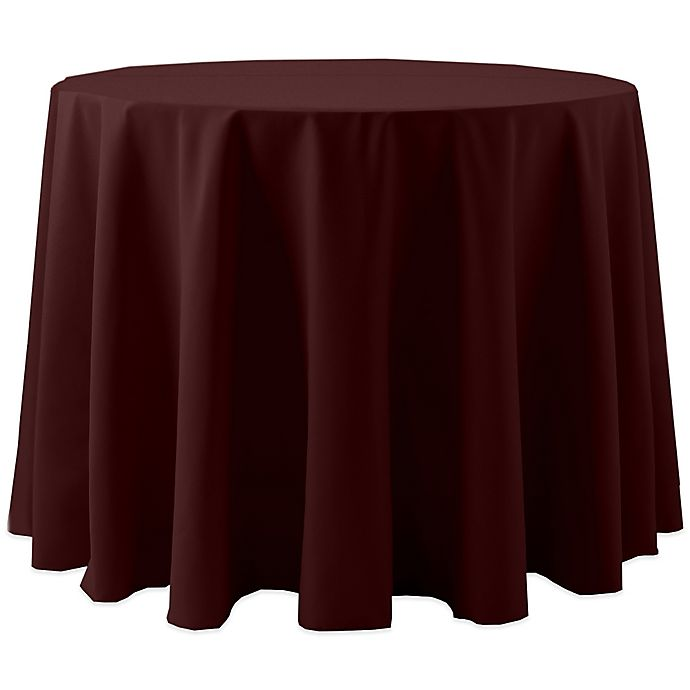 Alternate image 1 for Spun Polyester Round Tablecloth