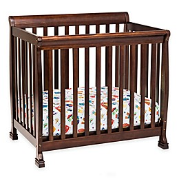 DaVinci Kalani 4-in1 Convertible Mini Crib in Espresso
