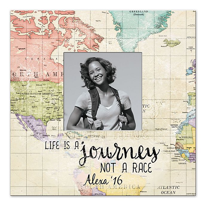 Alternate image 1 for All About the Journey Canvas Wall Art