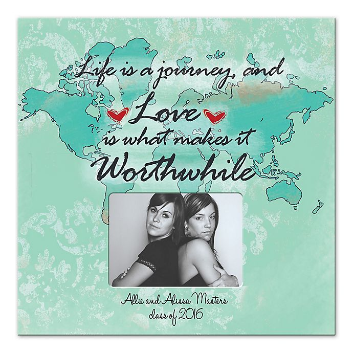 Alternate image 1 for Life is s Journey Worthwhile Canvas Wall Art