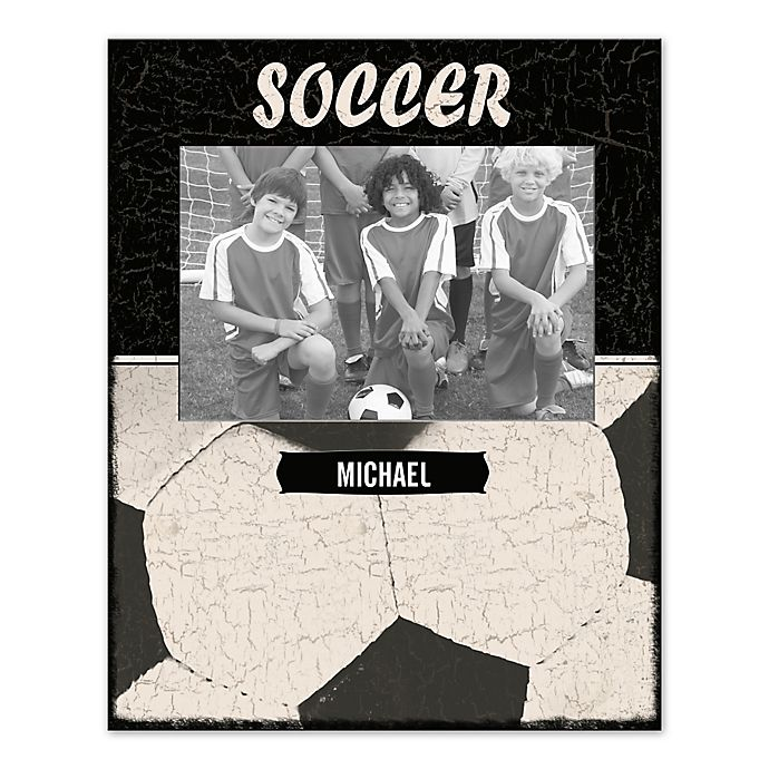Alternate image 1 for Soccer Canvas Wall Art