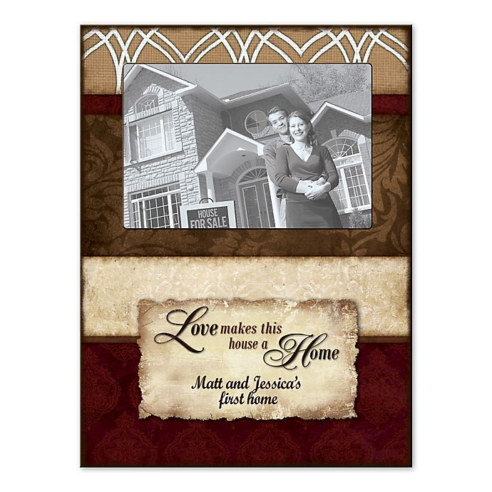 Alternate image 1 for Love Is Home Canvas Wall Art