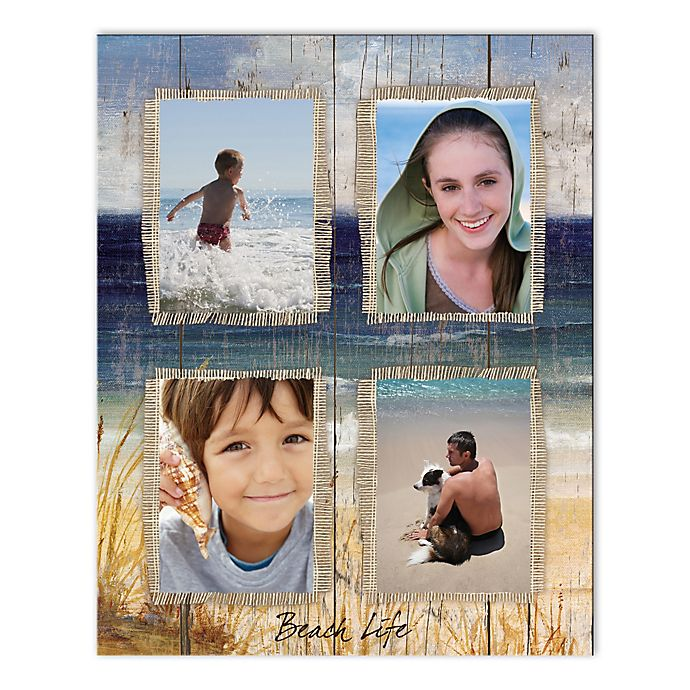 Alternate image 1 for Beach Life Photo Collage Canvas Wall Art
