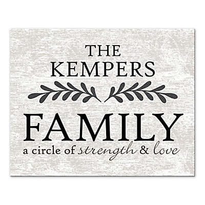 Family a Circle of Strength and Love