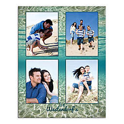 Under The Ocean Photo Collage Canvas Wall Art