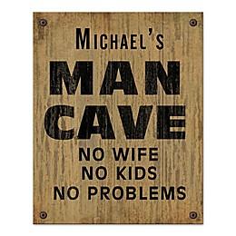 No Problem Cave Canvas Wall Art