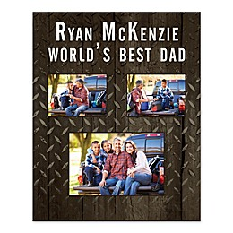 World's Best Dad Canvas Wall Art