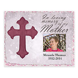 Mother Memory 14-Inch x 11-Inch Personalized Canvas Wall Art