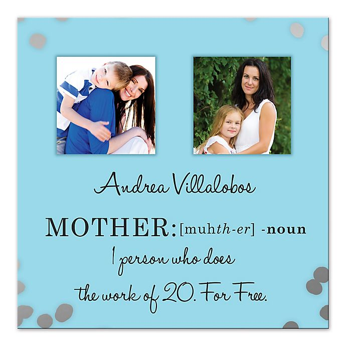 Alternate image 1 for Definition of Mother Canvas Wall Art
