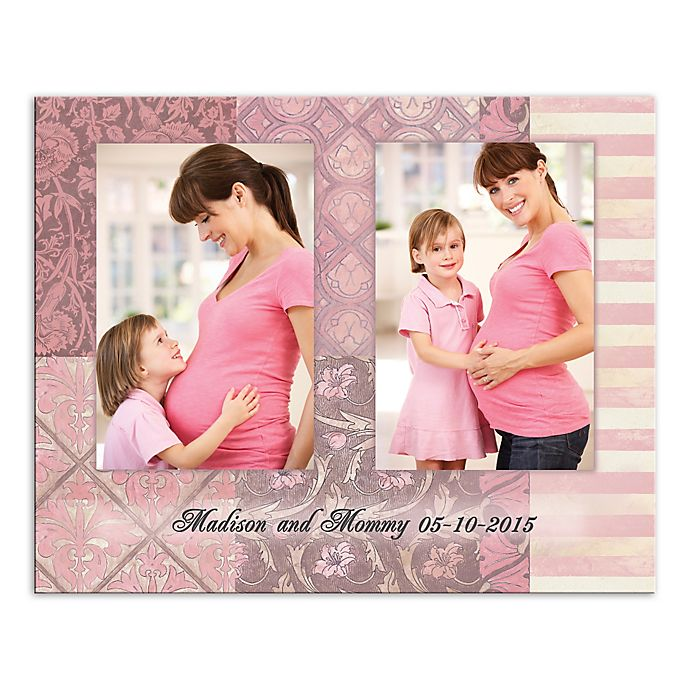 Alternate image 1 for Mother Panels Canvas Wall Art in Pink