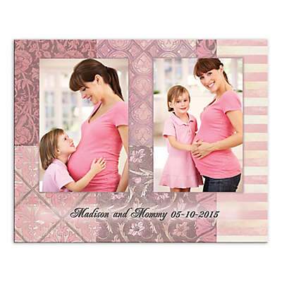 Mother Panels Canvas Wall Art in Pink