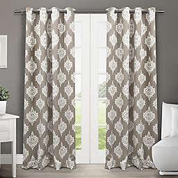 Medallion 2-Pack 84-Inch Grommet Top Room-Darkening Insulated Window Curtain Panels