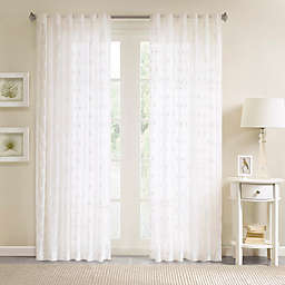Geometric Sheer Curtains Bed Bath Beyond