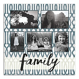 Family Photo Collage Canvas Wall Art