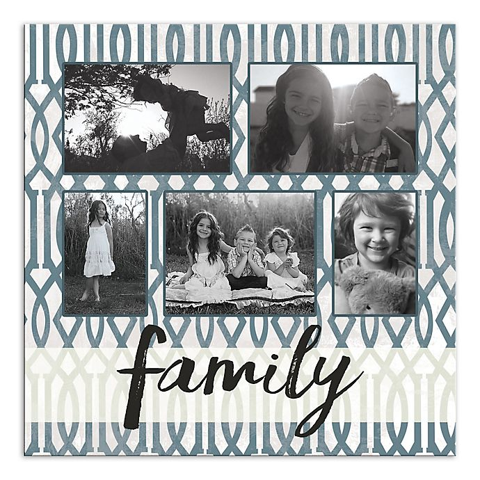 Alternate image 1 for Family Photo Collage Canvas Wall Art