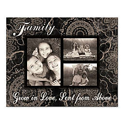 Grow With Love Photo Collage Canvas Wall Art