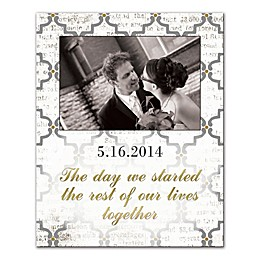 Rest of Our Lives Together Canvas Wall Art