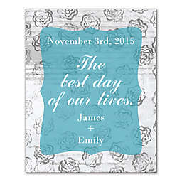 Best Day of Our Lives Canvas Wall Art