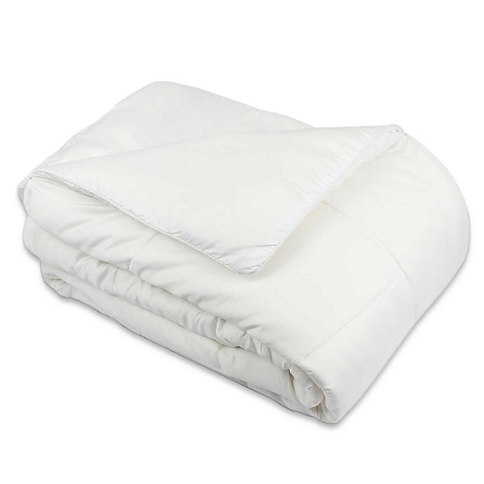 Alternate image 1 for Rayon Made From Bamboo Comforter in White