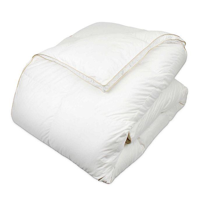 Alternate image 1 for Glucksberg European Goose Down Comforter Queen in White