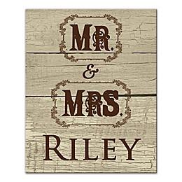 Mr. & Mrs. Cowboy Wall Art