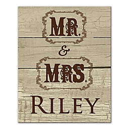 Mr. & Mrs. Cowboy Wall Art