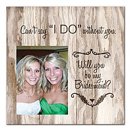Will You Be My Bridesmaid? Canvas Wall Art