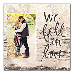 We Fell in Love Canvas Wall Art