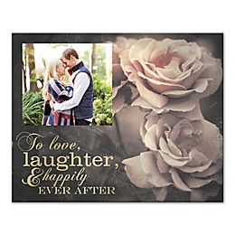 Love, Laughter, Happily Ever After Canvas Wall Art