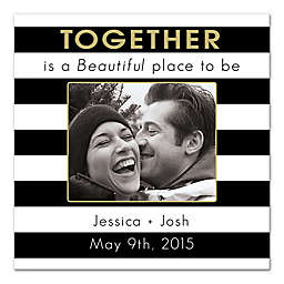 """""""Together A Beautiful Place"""" Canvas Wall Art"""