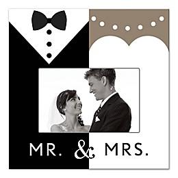 Mr. & Mrs. Formal Canvas Wall Art