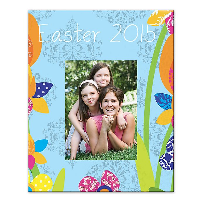 Alternate image 1 for Easter Flowers Canvas Wall Art