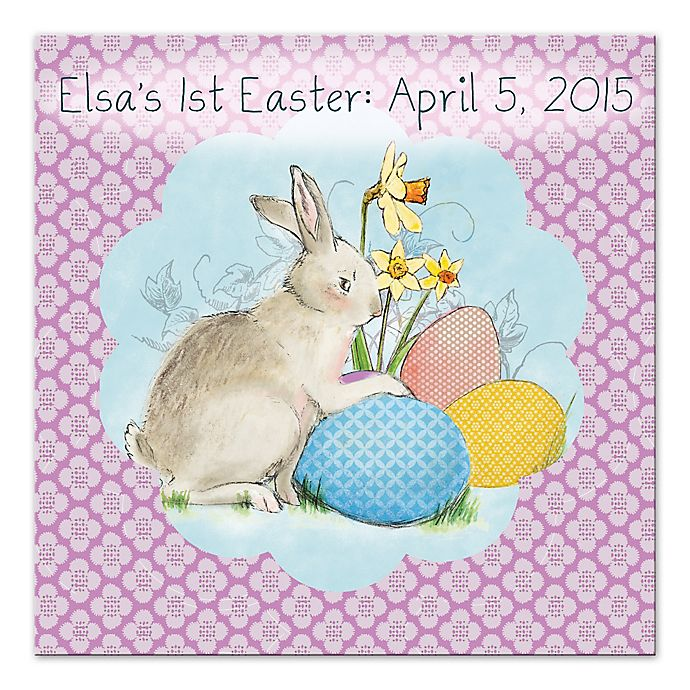 Alternate image 1 for Easter Bunny Canvas Wall Art