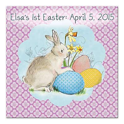 Easter Bunny Canvas Wall Art